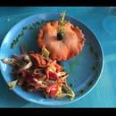Entrée : La Marina  - Tièle à la sétoise et sa salade mixte -