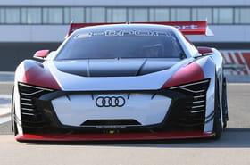 L'électrisante Audi e-tron Vision Gran Turismo en images
