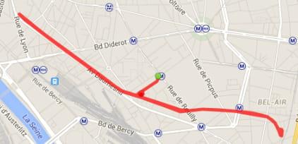 Paris : la Coulée Verte (6,3 km)