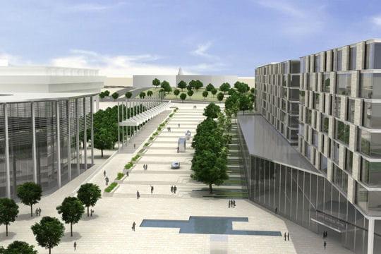Une nouvelle avenue pour le quartier officiel israélien