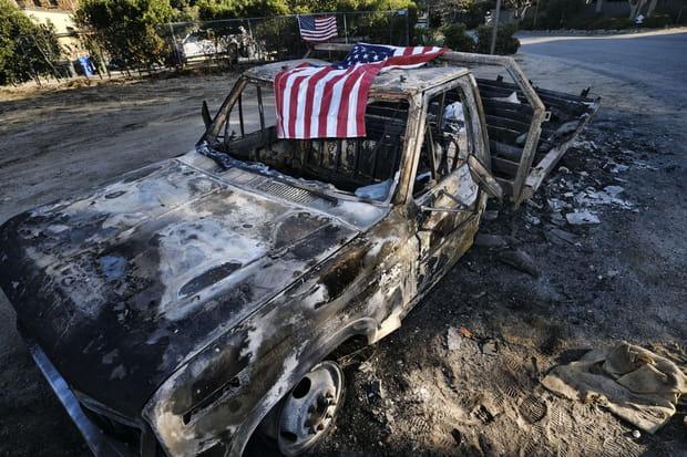 En images: l'incendie le plus meurtrier de l'histoire de la Californie