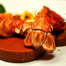L'Atelier d'Avron  - Queue de langoustines rôtie, sauce chou-fleur et petits croquants -