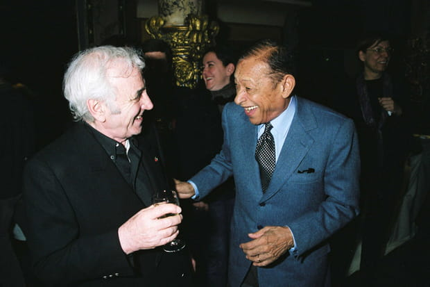 Avec Henri Salvador