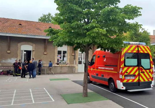 Béziers: le plafond d'une école primaire s'écroule, 60pompiers sur place