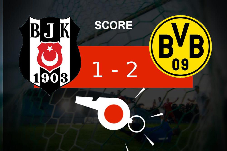 Besiktas - Dortmund: le Borussia Dortmund fait le job (1- 2), le résumé