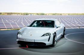 Les photos de la Porsche Taycan