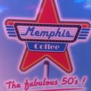 Restaurant : Memphis Coffee  - Logo -