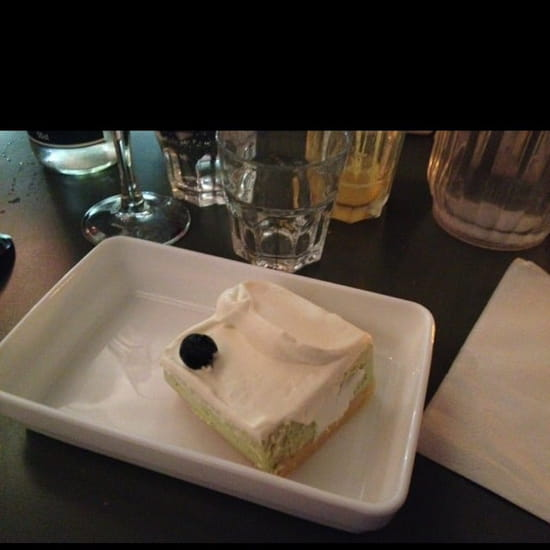 Dessert : Nanashi  - Cheese cake thé vert -