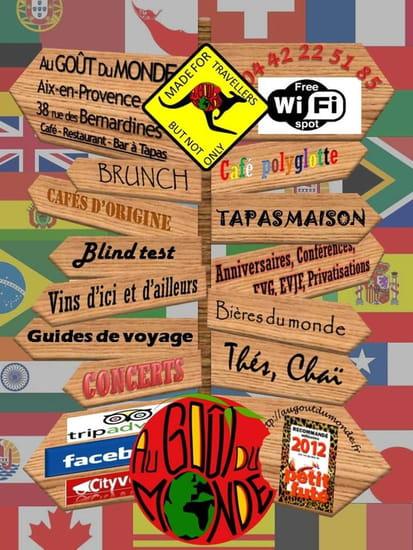 Au Gout Du Monde  - Carte du monde -   © Au Goût du Monde
