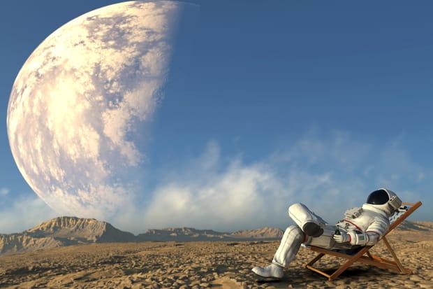 "Buzz Aldrinveut ""une grande migration humaine vers Mars"""
