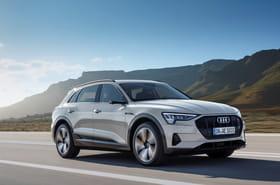 Les photos du SUV 100% électrique d'Audi, l'e-tron