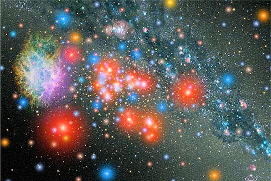 Nuage d'étoiles