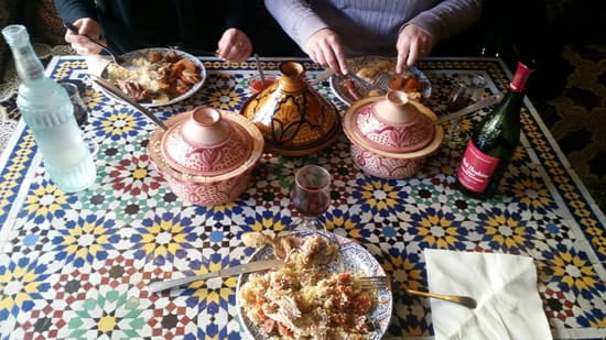 Plat : Le Marrakech  - Le couscous royal -
