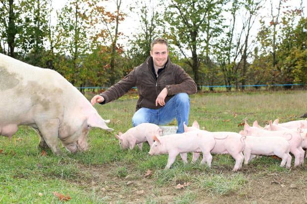 Jacky : éleveur de porcs