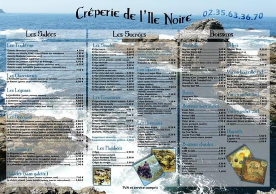 L'Île Noire  - LA CARTE -   © droits réservés