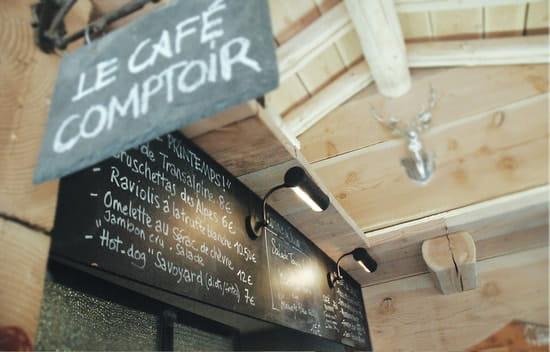 Le Café Comptoir  - l'ardoise -