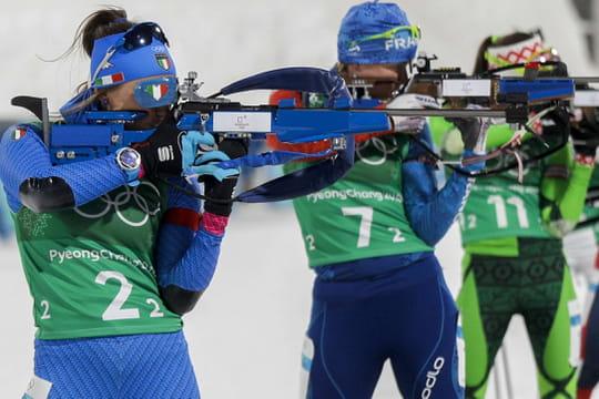 JO 2018: biathlon, slalom au programme demain, les chances de médaille