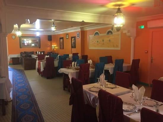 Restaurant : Les Palmiers  - La salle  -