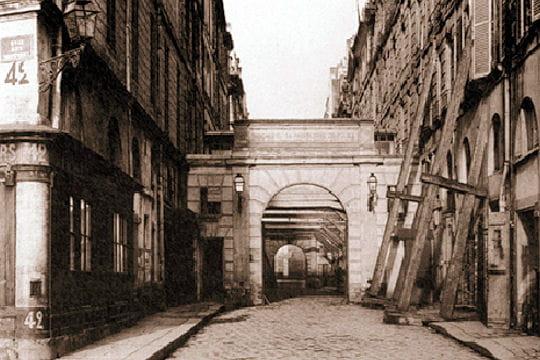 La rue de Harlay