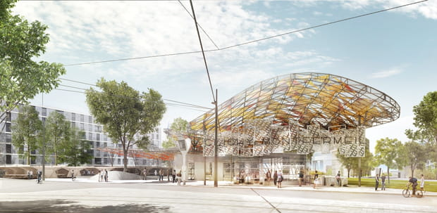 Gare de Clichy-Montfermeil