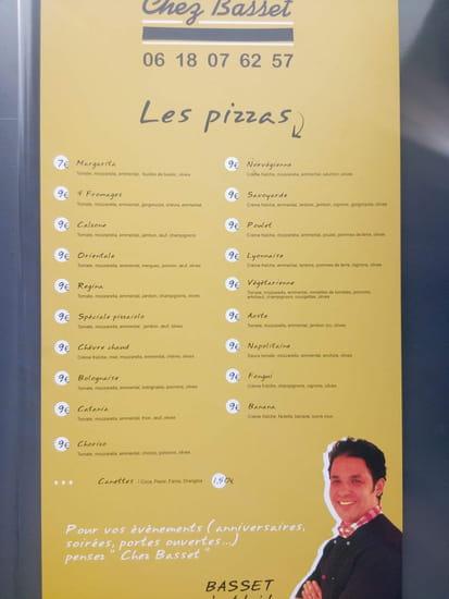 Chez Basset  - La carte -   © Chez Basset