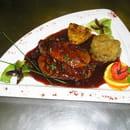 L'Auberge  - le tournedos rossini poelé au fruits rouges -