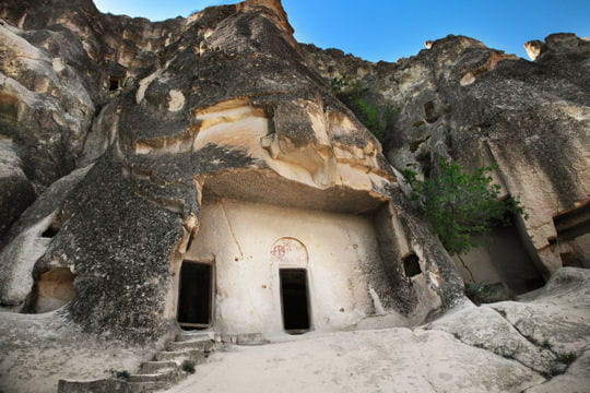 Les monastères de roche en Cappadoce