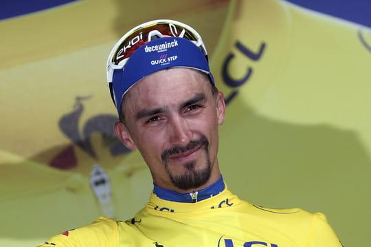 Julian Alaphilippe: jusqu'où va-t-il garder le maillot jaune du Tour?