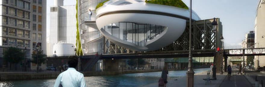 Une tour écologique en plein coeur de Paris