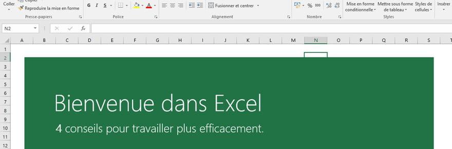 20 astuces pour Excel 2016