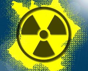 radiactivité : les villes et sites les plus touchés.
