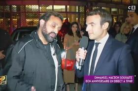 Cyril Hanouna s'offre Emmanuel Macron dans Touche pas à mon poste