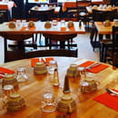 Restaurant : Crêperie Au Marché des Lices  - Grande salle -   © Au Marché des Lices