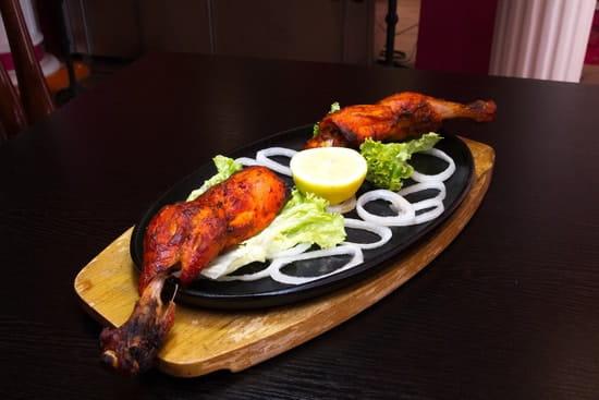 Restaurant indien Shalimar  - Poulet Tandoori -   © Fidel Hernandes