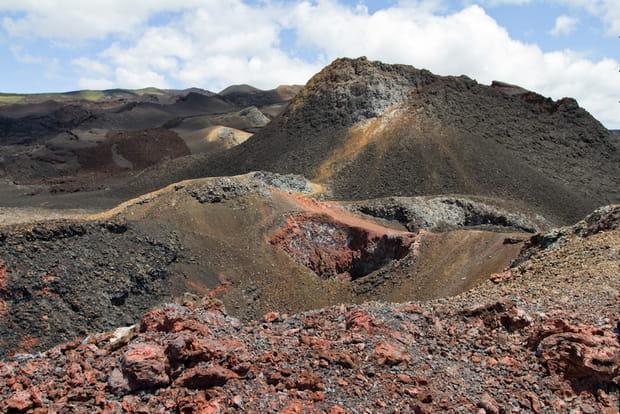 La Sierra Negra, le volcan actif