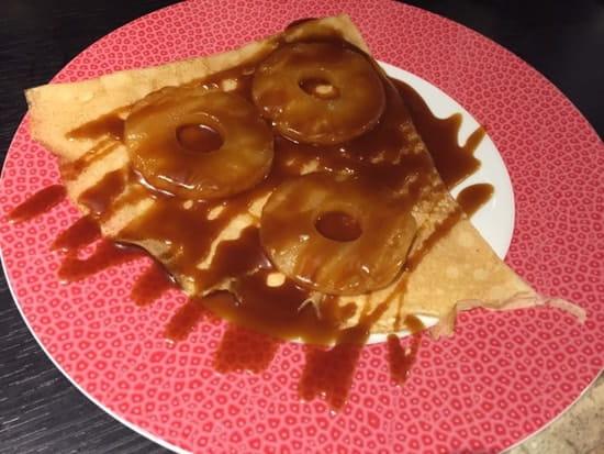 Dessert : Le Foucrêpe's  - Crêpe ananas caramel beurre salé  -