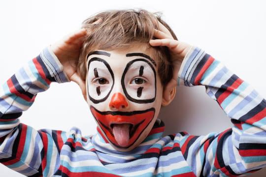 Maquillage de clown: modèles, idées et conseils
