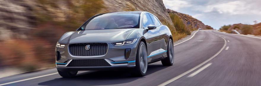 Jaguar I-Pace Concept: l'électrique oui... mais avec style!