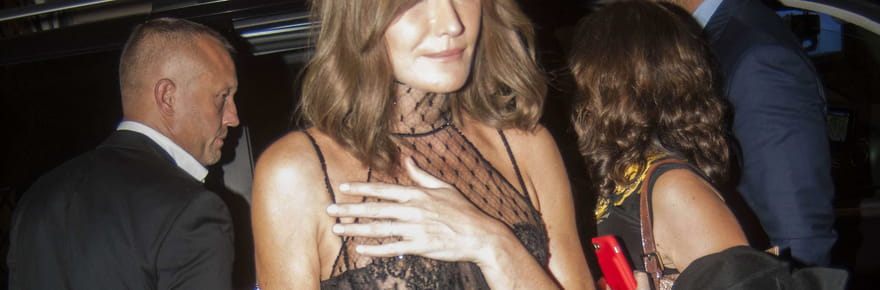 Carla Bruni: le message de Nicolas Sarkozy qui l'a fait craquer