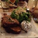 Plat : Le Barbusse  - Tartine coin coin (au canard) un délice !!  -