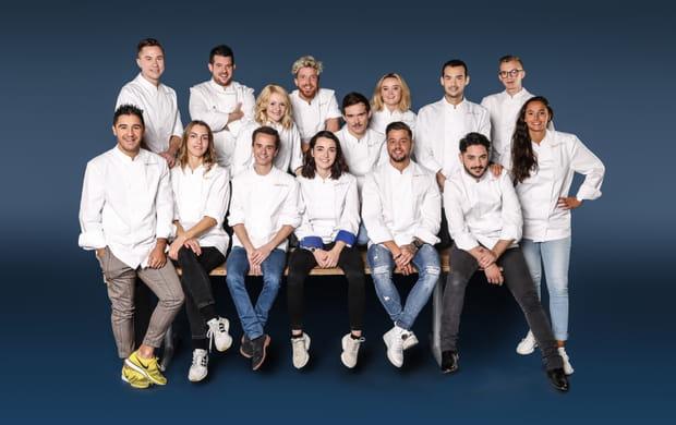 Les 15candidats de Top Chef 2019