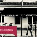 Restaurant : Le Gambetta  - Devanture -   © DC