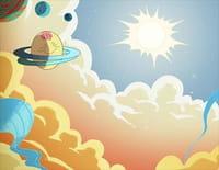 Les poulets de l'espace : Floufy Flibby Bisou Bisou. - Un poulet dans le bocal