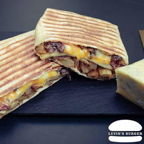 Plat : Luvin's Burger  - Tacos – Le Forézien -   © Luvin's Burger