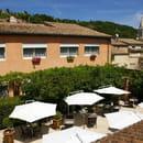Le Carré d'Alethius  - hôtel et patio -