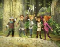 Arthur et les enfants de la Table ronde : La cage de verre