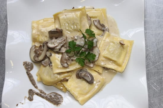 Le Sorrento  - raviolis à la truffe -