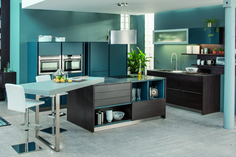 une cuisine modulable. Black Bedroom Furniture Sets. Home Design Ideas