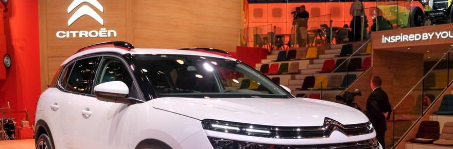 Les photos du Citroën C5Aircross au Mondial de l'Auto 2018