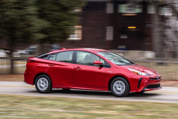 Toyota Prius restylée